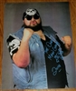 ONE MAN GANG signed poster!!