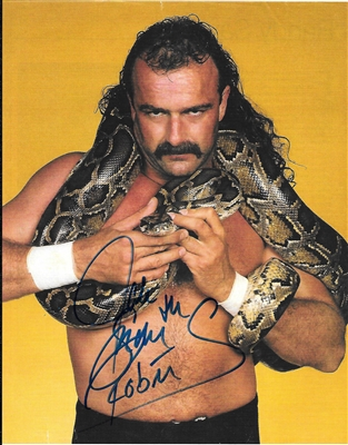JAKE THE SNAKE ROBERTS signed photo
