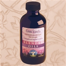 Mountain Body Products | Tahiti Vanilla Blended Massage & Bath Oil - 4 oz.