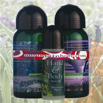 Mountain Body Products | Aromatherapy Gift Set