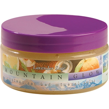 Mountain Body Products | Mountain Glow Mineral Salt Scrub - 8 oz. - Lavender Sage