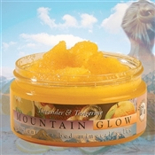 Mountain Body Products | Mountain Glow Mineral Salt Scrub - 8 oz. - Lavender & Tangerine (natural alpha hydroxy)