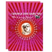 Papaya - Double Dog Dare 5x7 Card
