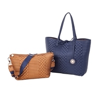 Sydney Love Qulilted Reversible Tote & Crossbody