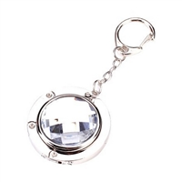 Jewel'd Portable Handbag Hanger Purse Hook