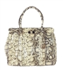 Tory Burch Serina Large Snake Leather Tote