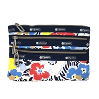 LeSportsac Essential Classic 3 Zip Pouch