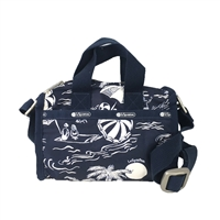 LeSportsac Essential Mini Weekender Crossbody Bag Hawaiian Getaway C