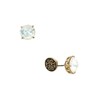 Tory Burch Tory Set Crystal Stud Earrings