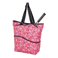 Sydney Love Sport Serve It Up Tall Tote w Tennis Racquet Compartment