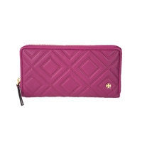 Tory Burch Fleming Zip Around Continental Wallet