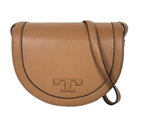 Tory Burch Serif T Leather Saddle Bag