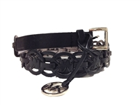 Michael Kors MK Cutout Repeat Logo Belt
