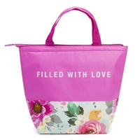 Marbel Blossom 'Filled with Love' Insulated Lunch Tote