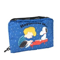 LeSportsac x Peanuts XL Rectangular Cosmetic Case