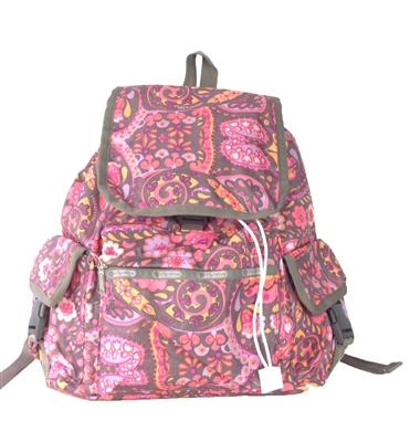 lesportsac voyager backpack flower child. Black Bedroom Furniture Sets. Home Design Ideas