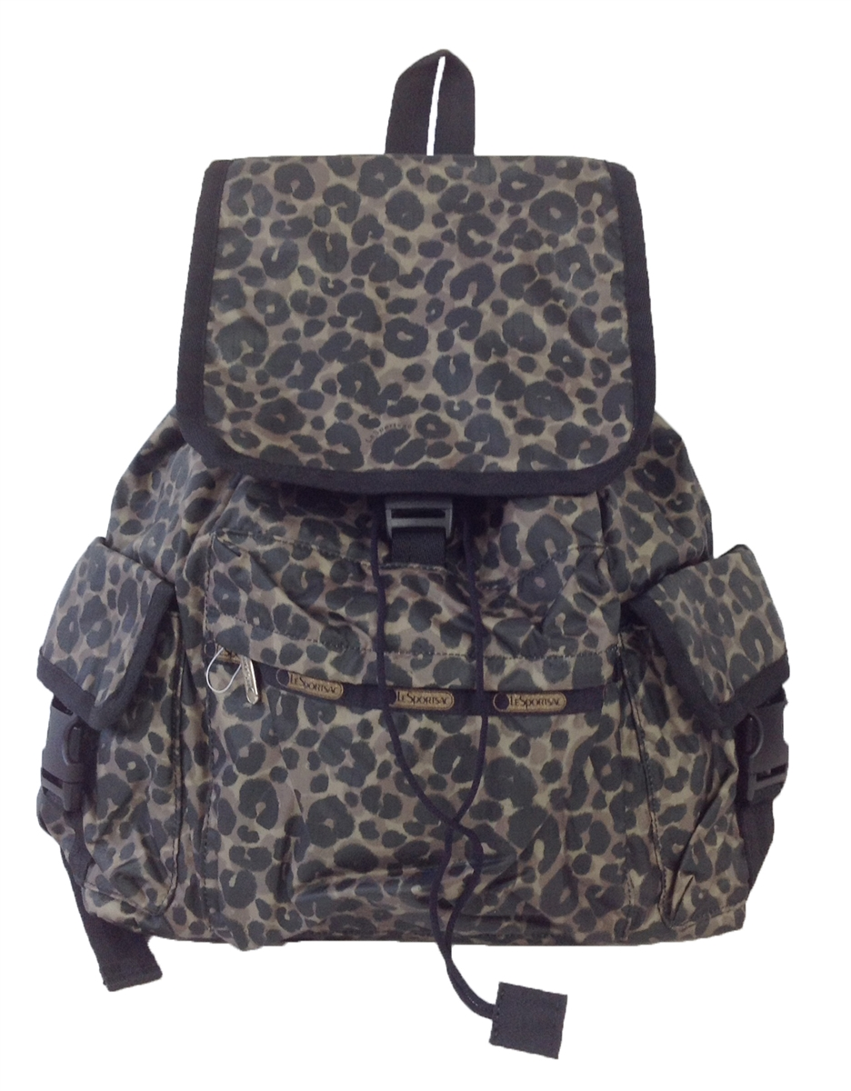lesportsac voyager backpack army cheetah. Black Bedroom Furniture Sets. Home Design Ideas
