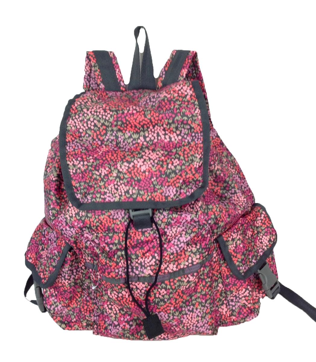 lesportsac voyager backpack lavender fields. Black Bedroom Furniture Sets. Home Design Ideas