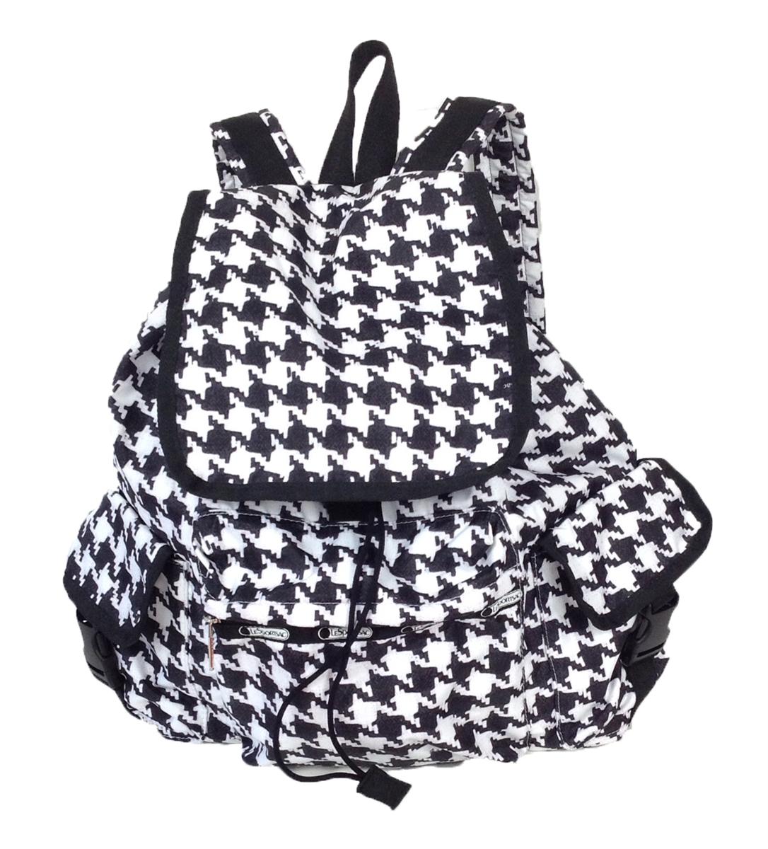 lesportsac voyager backpack chic noir. Black Bedroom Furniture Sets. Home Design Ideas