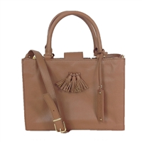 Via Spiga Ester Leather Top Handle Satchel