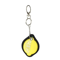 Lemon Key Chain Purse Charm
