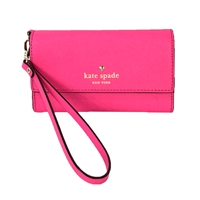 Kate Spade Saffiano Leather iPhone Wristlet