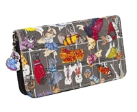 Sydney Love Diva Dogs Zip Around Wallet.