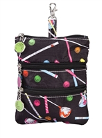 Sydney Love Sport Driving Me Crazy Print Clip On Zip Pouch