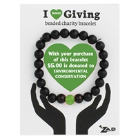 Zad Jewelry Charity Beaded Bracelet Environmental Conservation