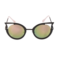 Betsey Johnson Cool Kat Metal Sunglasses