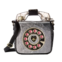 Betsey Johnson Retro Phone Crossbody
