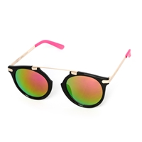 Betsey Johnson Brow Bar Mirrored Sunglasses