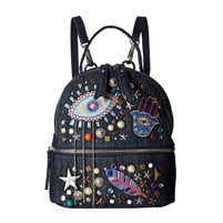 Steve Madden B-Tasha Stud & Patch Mini Backpack