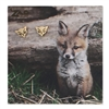 Zad Jewelry Foxy Fox Stud Earrings