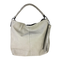 Melie Bianco Lola Vegan Leather Tassel Hobo