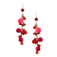 Amrita Singh Cubana Pom Pom Dangle Earrings