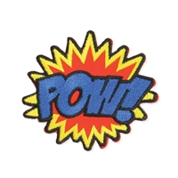 Zad POW! Embroidered Iron On Patch
