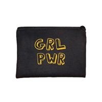 Fashion Culture GRL PWR Zip Cosmetic Case