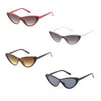 Fashion Culture Friday Thin Cat Eye Sunglasses