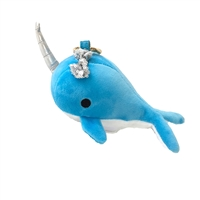 Plush Narwhal Portable Charger Power Bank