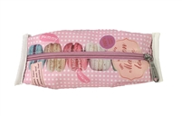 Fashion Culture Macaroon Print Cosmetic Case