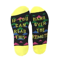 Hand Over The Remote Novelty Ankle Socks