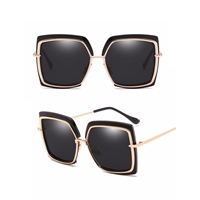 Cyd Oversized Square Cat Eye Sunglasses