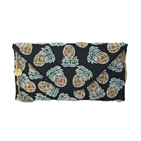 From St Xavier Pineapple Beaded Convertible Clutch