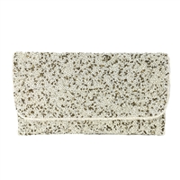 From St Xavier Snow Beaded Convertible Clutch