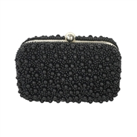 From St Xavier Marcela Bubble Beaded Box Clutch