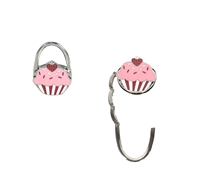 Cupcake Portable Handbag Hanger Purse Hook