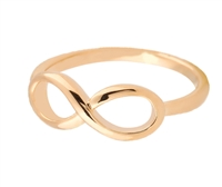 Jewelry Collection Gold Infinity Ring