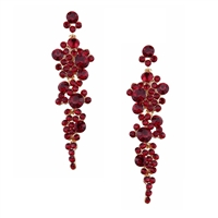 Jewelry Collection Dovima Crystal Drop Earrings,
