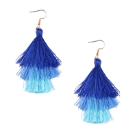 Jewelry Collection Cocos Ombre Tassel Drop Earrings